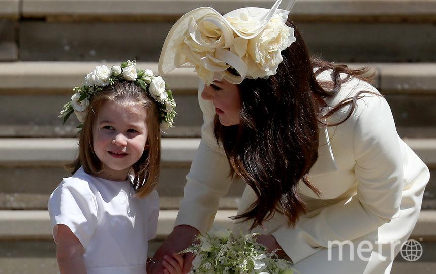 Принцесса Шарлотта с мамой Кейт Миддлтон. Фото Getty