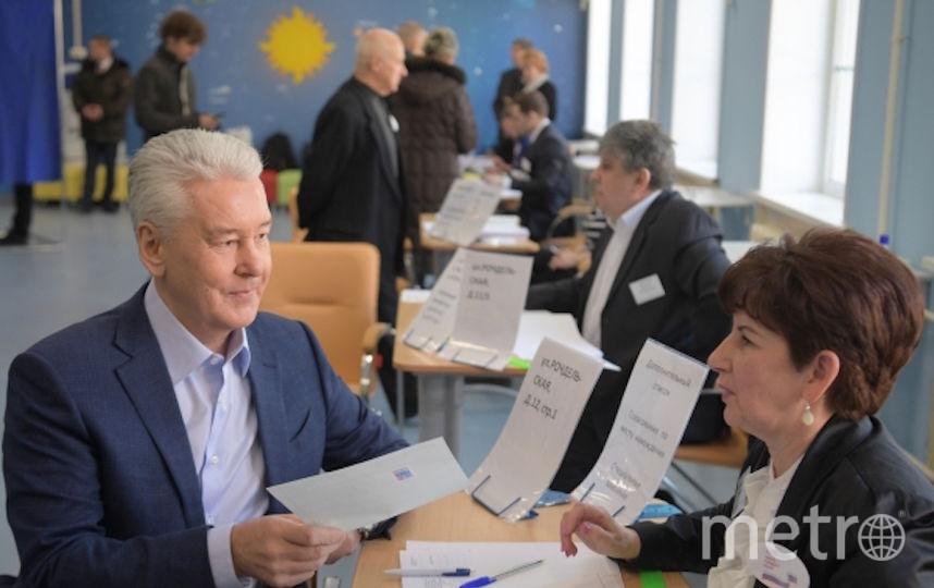 Сергей Собянин - кандидат на должность мэра Москвы. Фото РИА Новости