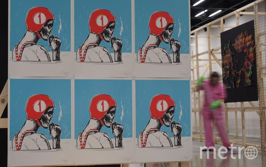 """В Манеже открывается проект, посвященный стрит-арту. Фото Святослав Акимов., """"Metro"""""""
