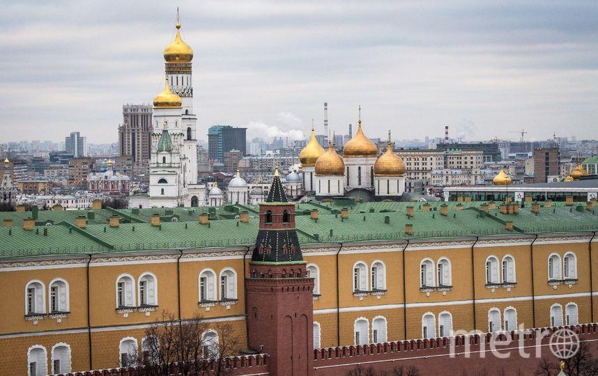 В День ВДВ будет ограничено движение транспорта в самом центре Москвы. Фото AFP