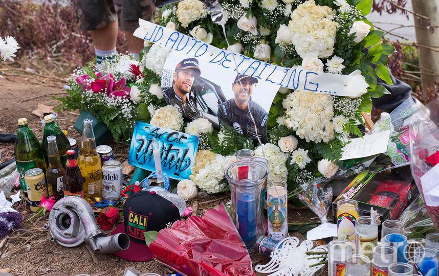 На месте смертельного ДТП. Фото Getty