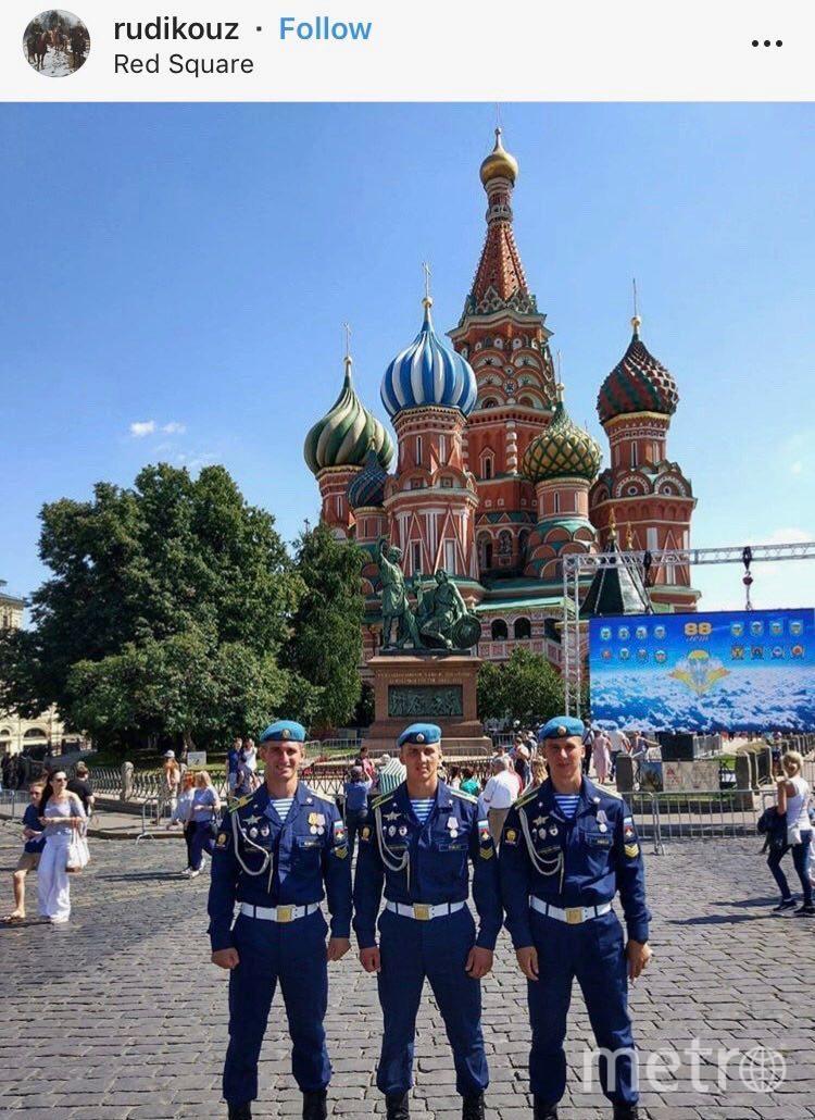 День ВДВ в Москве. Фото Скриншот Instagram.