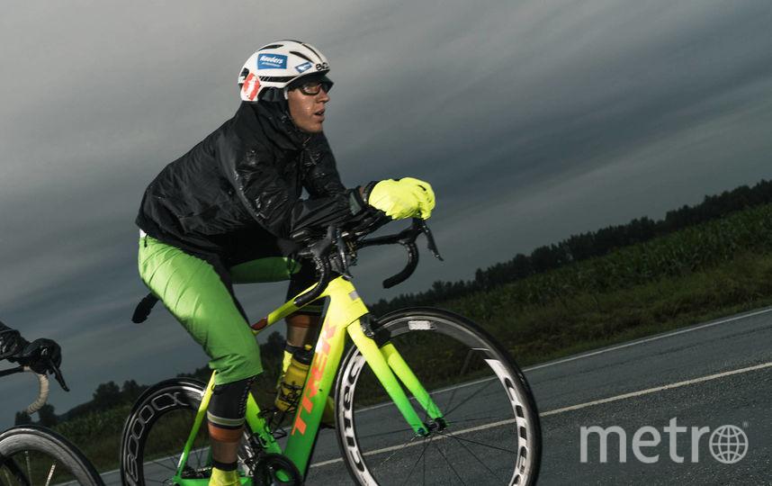 Пьер Бишофф – новый лидер гонки. Фото redbullcontentpool.com | Денис Клеро