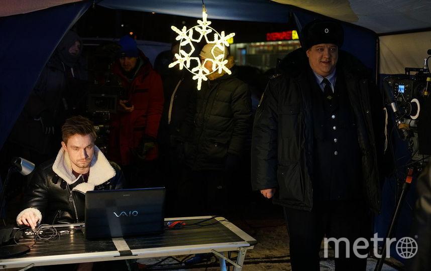 """Съёмки фильма """"Полицейский с Рублёвки. Новогодний беспредел"""". Фото Предоставлено продюсерами"""