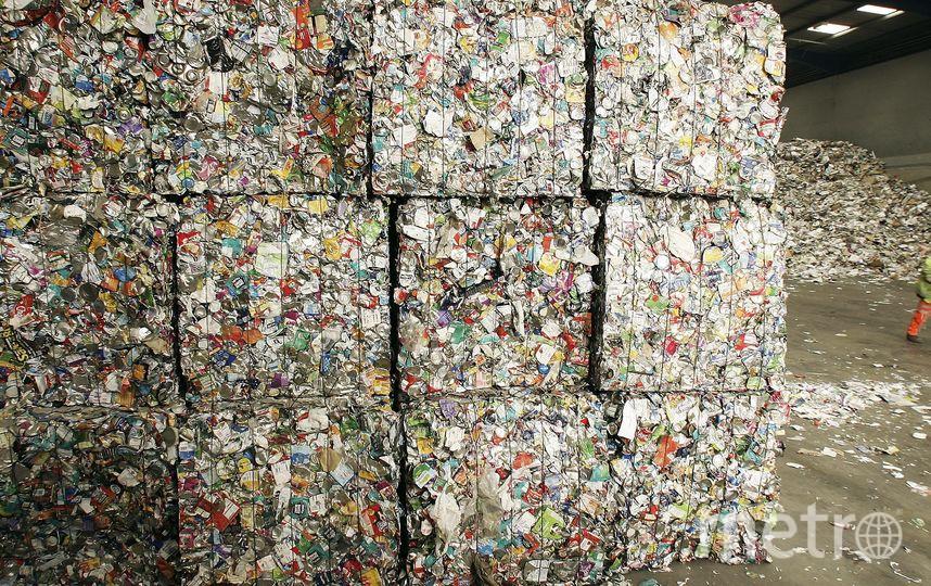 Переработка мусора. Фото Getty