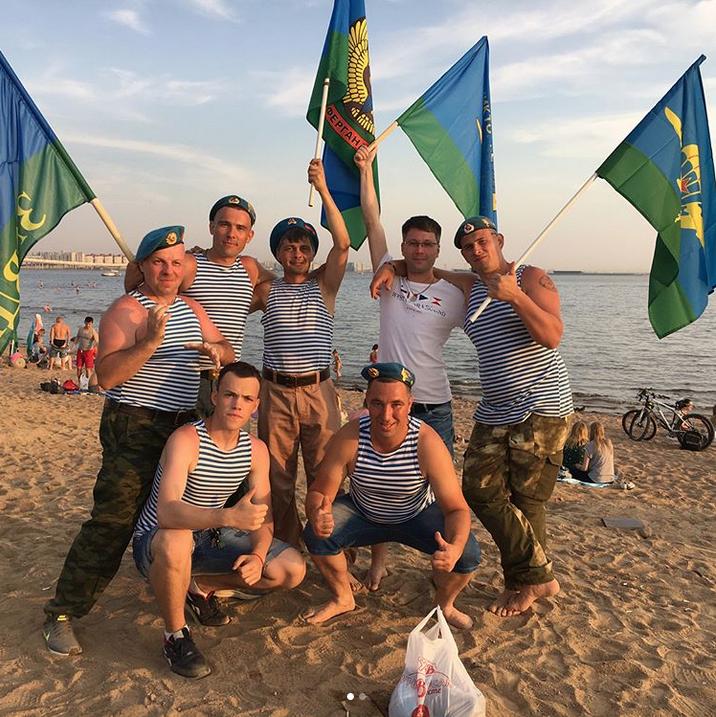 День ВДВ в Петербурге: Instagram заполонили яркие фото праздника. Фото Скриншот Instagram: @prenks
