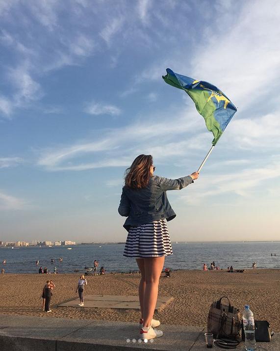 День ВДВ в Петербурге: Instagram заполонили яркие фото праздника. Фото Скриншот Instagram: @redbulkaa