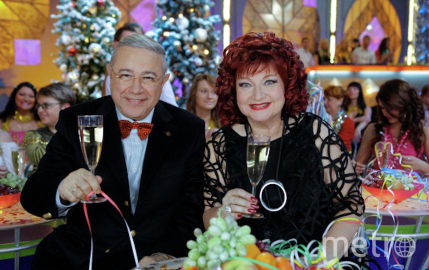 Евгений Петросян и Елена Степаненко. Фото РИА Новости