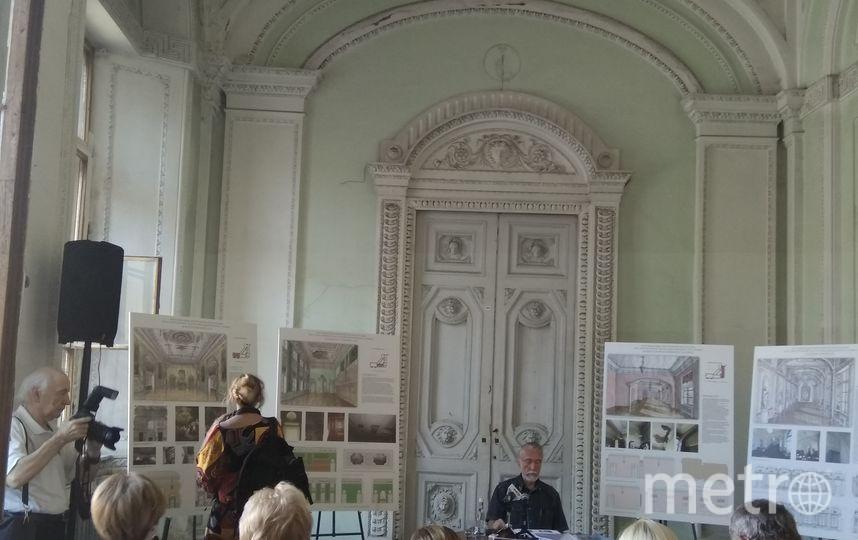 """Внутри Михайловского замка. Фото Ольги Рябининой, """"Metro"""""""