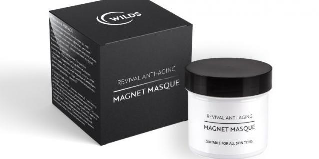 Энергетическая магнитная маска Wilds revival Аnti-aging magnet masque.