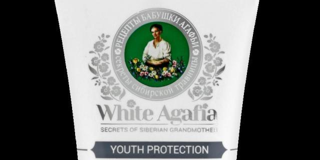 "Маска для лица ""Сохранение молодости"" White Agafia."