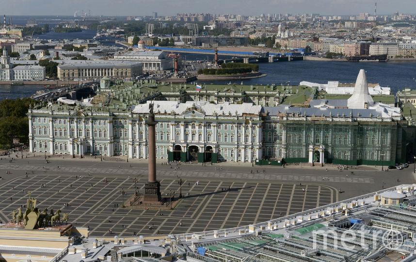 Дворцовая площадь. Фото Getty