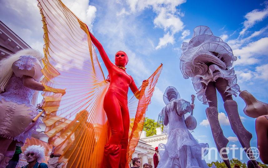 Фестиваль уличных театров. Фото Предоставлено организаторами