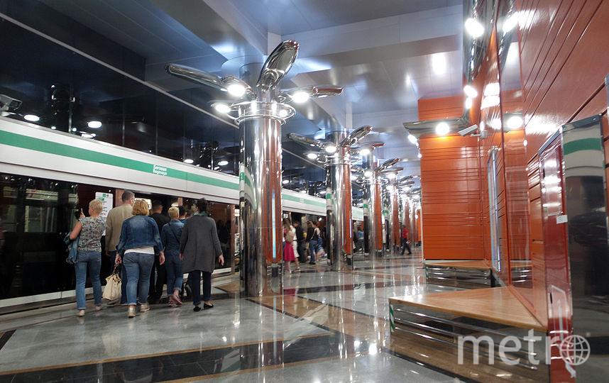 """Беговая"". Фото ""Metro"""