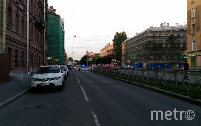 """ДТП и ЧП / Санкт-Петербург"". Фото Роман Минин, vk.com"