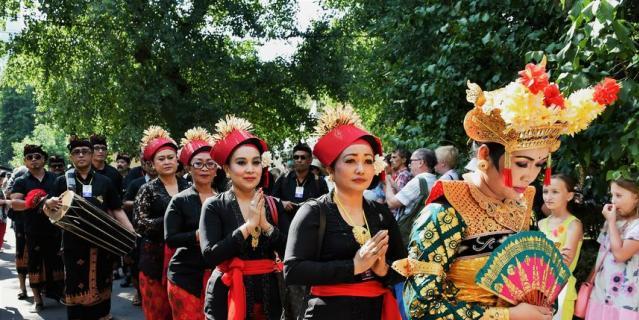 """С 3 по 5 августа в парке """"Красная Пресня"""" в Москве проходит уже третий Фестиваль Индонезии."""