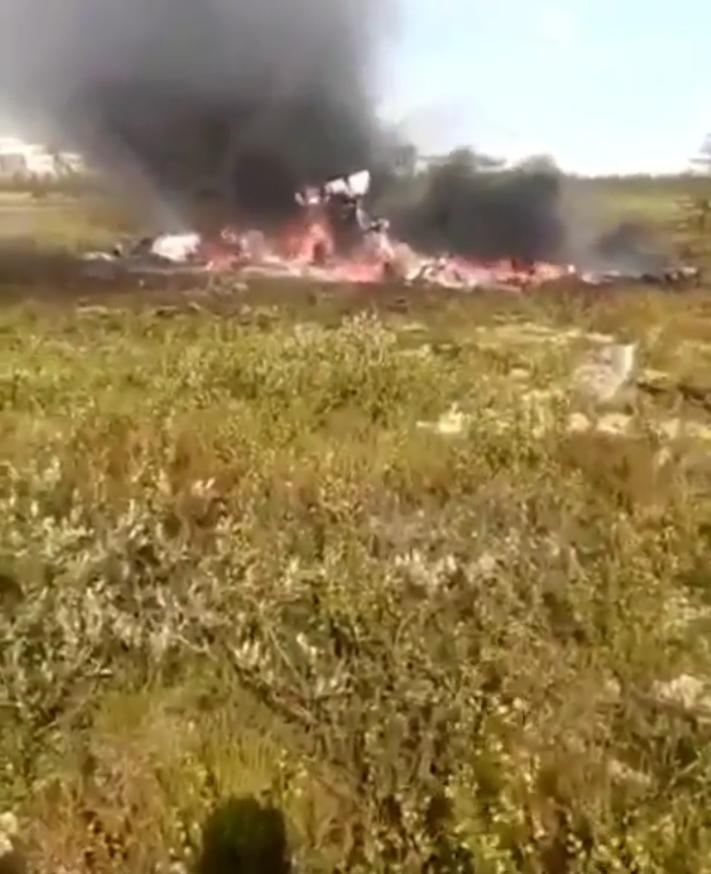 В Красноярском крае разбился вертолёт. Фото Скриншот Instagram: @krasnoyarsk_bro