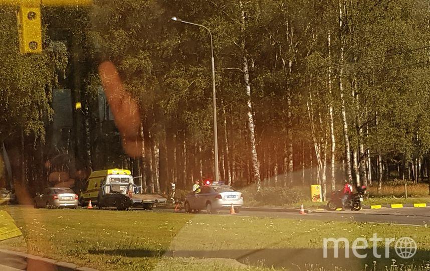 В Петербурге мотоциклист наехал на 60-летнюю женщину. Фото ДТП и ЧП   Санкт-Петербург   Питер Онлайн   СПб, vk.com