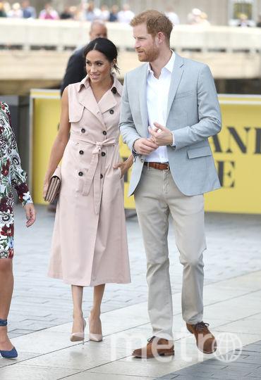 Меган Маркл и принц Гарри посетили свадьбу друга через три месяца после своей. Фото Getty