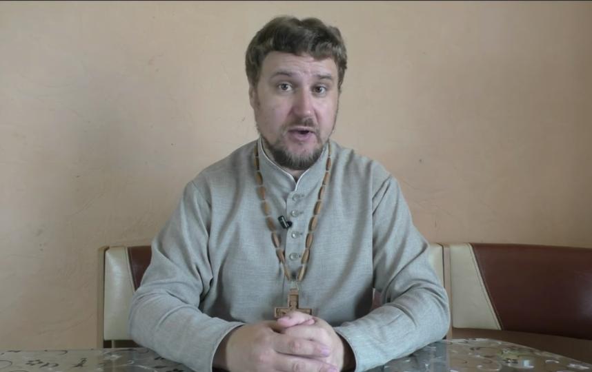 Священник-блогер Святослав Шевченко, один из составителей памятки для священников-видеоблогеров. Фото Скриншот видео YouTube., Скриншот Youtube