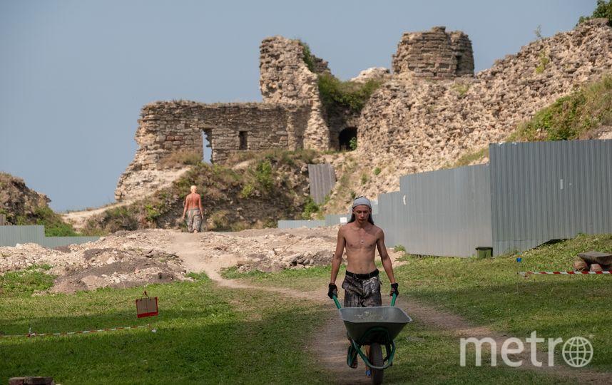 """На месте раскопок. Фото Алена Бобрович, """"Metro"""""""