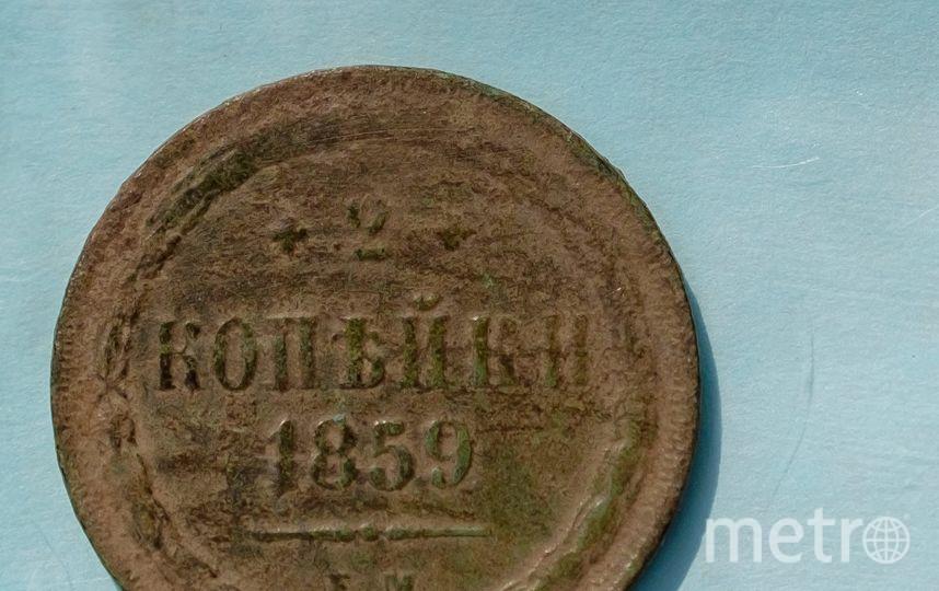 """Найденные при раскопках монеты. Фото Алена Бобрович, """"Metro"""""""