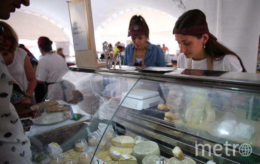 Всероссийский фестиваль сыра прошёл на ВДНХ. Фото Василий Кузьмичёнок
