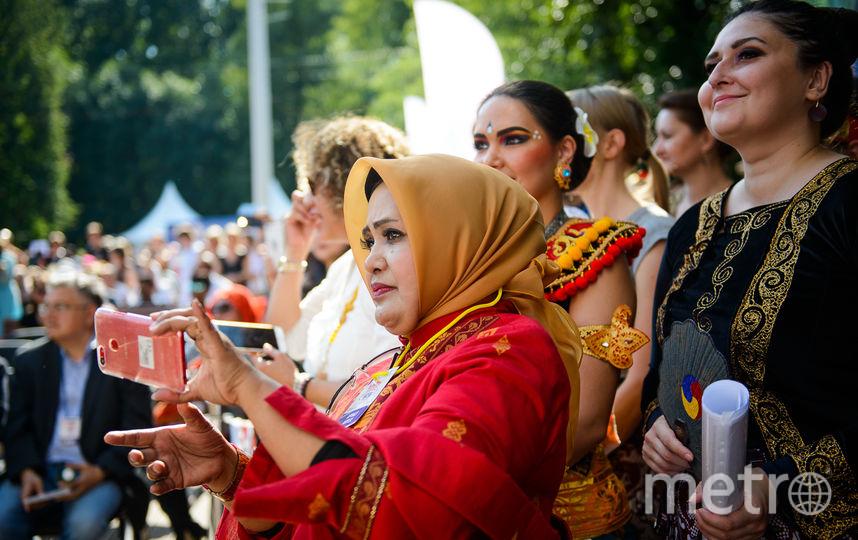 """В парке """"Красная Пресня"""" прошёл  фестиваль """"Дни Индонезии"""". Фото Василий Кузьмичёнок"""