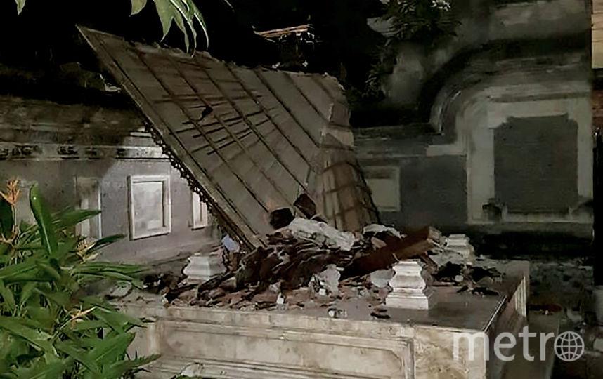 Землетрясение в Индонезии. Фото AFP