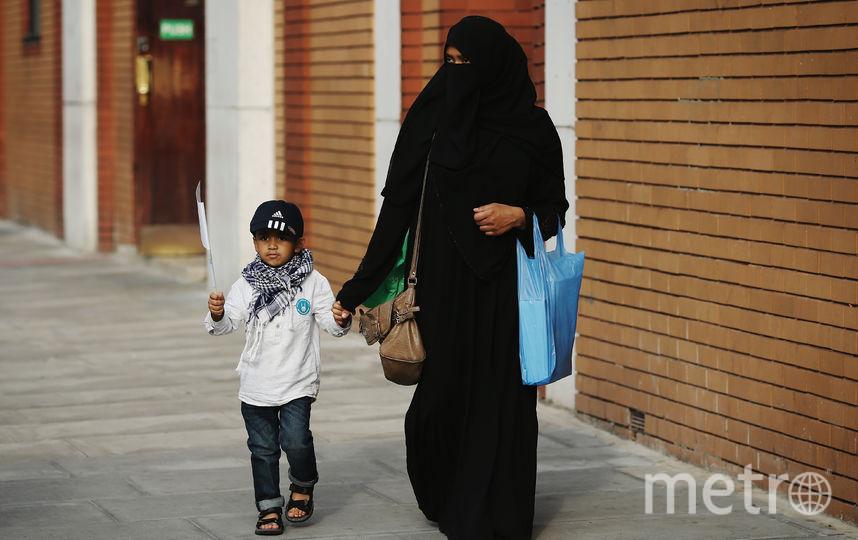 В Дании стали штрафовать за ношение никаба. Фото Getty