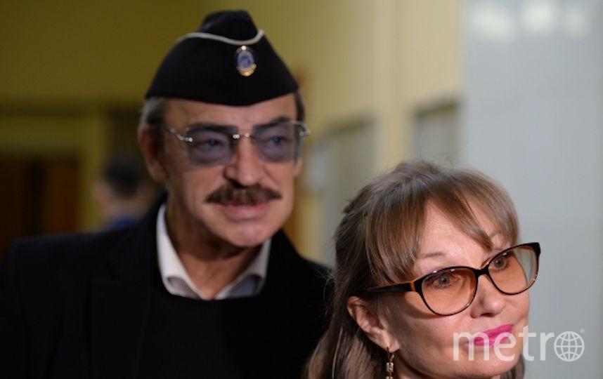 Михаил Боярский и Лариса Луппиан. Фото РИА Новости