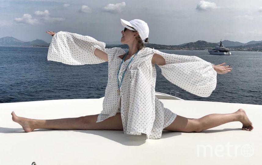 Ксения Собчак на Сардинии. Фото instagram.com/xenia_sobchak