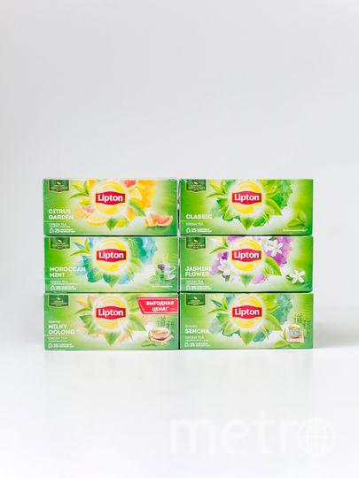 зеленый чай Lipton.