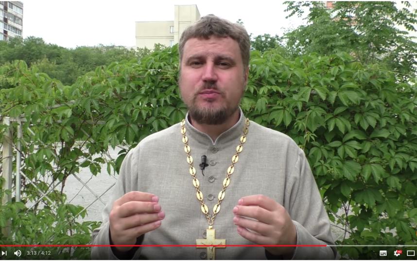 Отец Святослав. Фото Скриншот видео YouTube., Скриншот Youtube