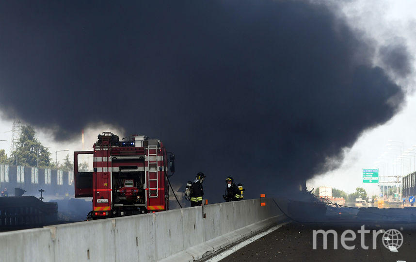 Место ЧП. Фото AFP