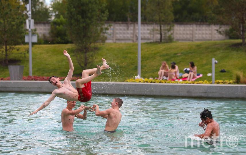 Вода в нём безопасна для здоровья, но купаться там запрещено. Фото Василий Кузьмичёнок