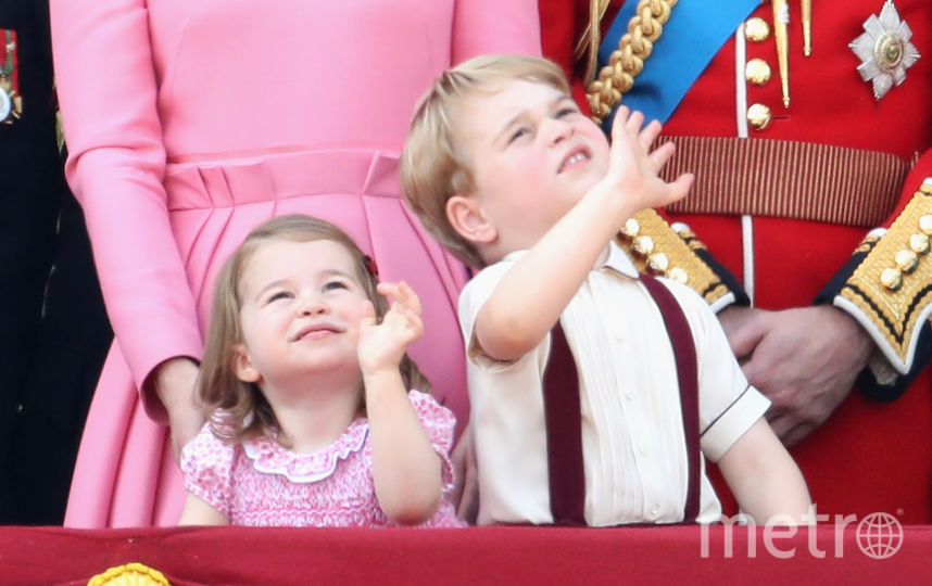 Общее фото в День монарха. Фото Getty
