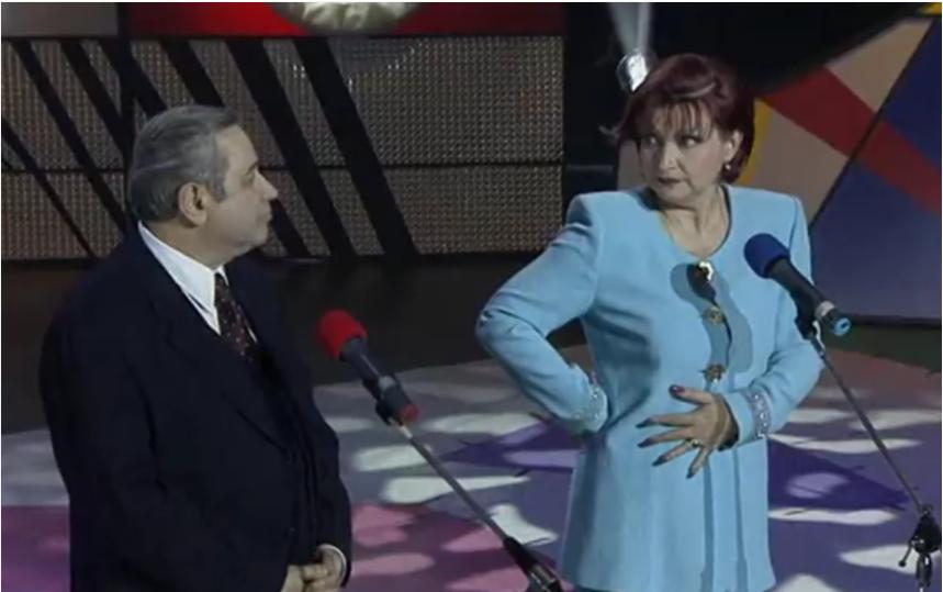 Евгений Петросян и Елена Степаненко. Фото Скриншот Youtube, Скриншот Youtube