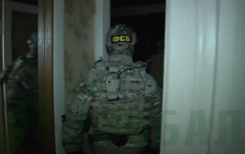 Кадры задержания. Фото Скриншот Youtube