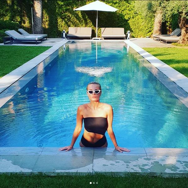 Певица Полина Гагарина во Франции. Фото Скриншот instagram.com/gagara1987/
