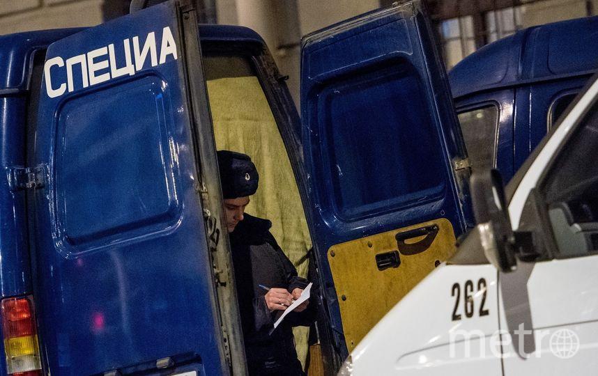 """Станция метро """"Технологический институт"""" вечером после трагедии. Фото архивное, """"Metro"""""""