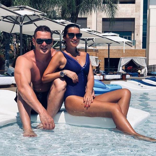 Телеведущая Ксения Бородина с мужем в отпуске в Турции. Фото Скриншот instagram.com/borodylia/?hl=ru