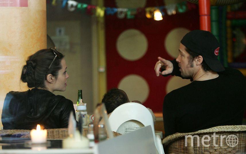 Джоли и Питт не могут решить, кто будет воспитывать детей. Фото Getty