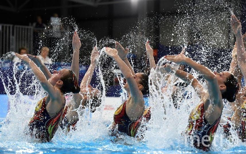 Сборная России в соревнованиях групп. Фото Getty