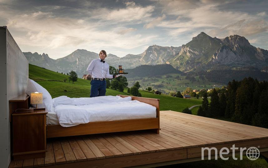В отеле работает дворецкий. Фото Toggenburg Tourism