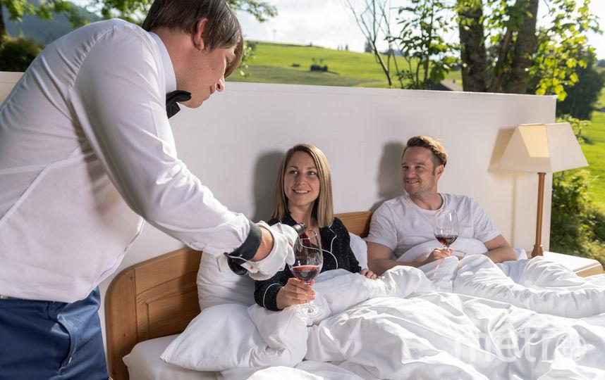 Отель пользуется спросом среди романтических парочек. Фото Toggenburg Tourism