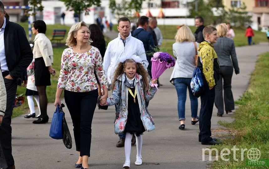 Учебный год для школьников Москвы начнётся 3 сентября. Фото Василий Кузьмичёнок