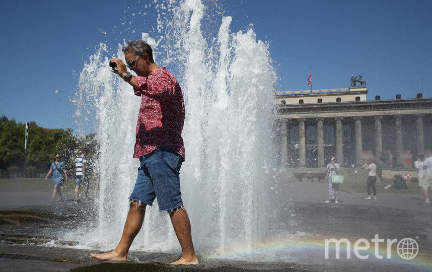 Жара в Берлине. Фото Getty