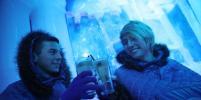 От жары в Берлине спасаются в ледовом баре: фото