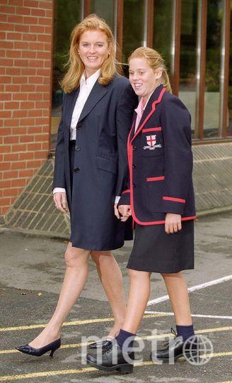 Принцесса Беатрис с мамой. Фото Getty